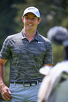 Rory McIlroy (IRL) is all smiles after sinking his birdie putt on 5 during round 4 of the World Golf Championships, Mexico, Club De Golf Chapultepec, Mexico City, Mexico. 3/5/2017.<br /> Picture: Golffile | Ken Murray<br /> <br /> <br /> All photo usage must carry mandatory copyright credit (&copy; Golffile | Ken Murray)