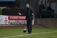 4th January 2020; Dens Park, Dundee, Scotland; Scottish Championship Football, Dundee FC versus Inverness Caledonian Thistle; Dundee manager James McPake  - Editorial Use