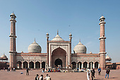 Delhi, India. Jama Masjid Friday Mosque.