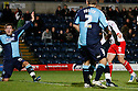 Lawrie Wilson of Stevenage (2) scores the winning goal. - Wycombe Wanderers v Stevenage - Adams Park, High Wycombe - 31st December 2011  .© Kevin Coleman 2011