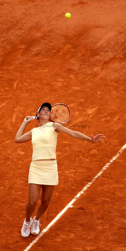 Photo. Jed Wee..French Open Tennis Championships, Roland Garros, Paris, France. 29/05/2003..Evie Dominikovic.