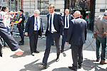 Real Madrid's Danilo Luiz Da Silva leaves Seat of Government in Madrid, May 22, 2017. Spain.<br /> (ALTERPHOTOS/BorjaB.Hojas)