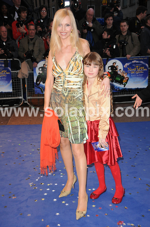 **ALL ROUND PICTURES FROM SOLARPIX.COM**.**WORLDWIDE SYNDICATION RIGHTS**.the UK premiere of Nanny McPhee And The Big Bang, .Odeon West End, Leicester Square, London, UK. 24 March 2010..This pic: Anneka Svenska and daughter..JOB REF: 10974 MSR    DATE: 24_03_2010.**MUST CREDIT SOLARPIX.COM OR DOUBLE FEE WILL BE CHARGED**.**MUST NOTIFY SOLARPIX OF ONLINE USAGE**.**CALL US ON: +34 952 811 768 or LOW RATE FROM UK 0844 617 7637**