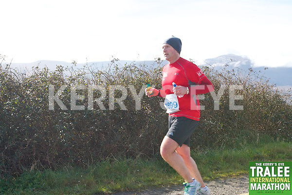 1699 Joe Sherlock who took part in the Kerry's Eye, Tralee International Marathon on Saturday March 16th 2013.