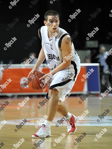2010-08-24 / Basketbal / seizoen 2010-2011 / Belgian Lions / Sam Van Rossom..Foto: Mpics