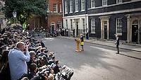Theresa May becomes Britain's second female Prime Minister. Downing Street, London, England July 13, 2016.<br /> CAP/CAM<br /> &copy;Andre Camara/Capital Pictures /MediaPunch ***NORTH AND SOUTH AMERICAS ONLY***