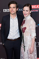Jason Ralph and Rachel Brosnahan attends the BAFTA Los Angeles Awards Season Tea Party at Hotel Four Seasons in Beverly Hills, California, USA, on 06 January 2018. Photo: Hubert Boesl - NO WIRE SERVICE - Photo: Hubert Boesl/dpa /MediaPunch ***FOR USA ONLY***