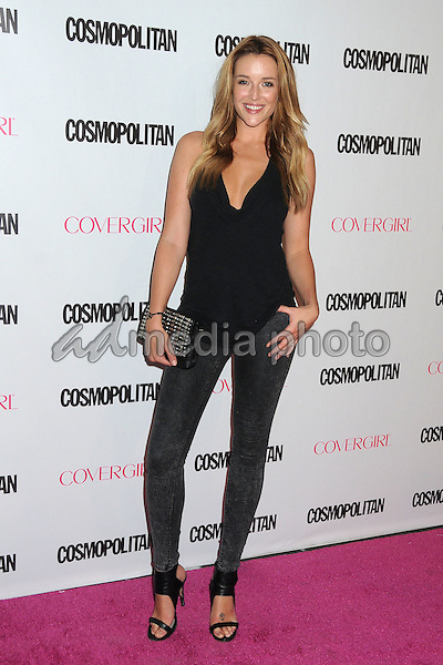 12 October 2015 - Hollywood, California - Sarah Dumont. Cosmopolitan 50th Birthday Celebration held at Ysabel. Photo Credit: Byron Purvis/AdMedia