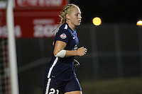 Piscataway, NJ - Saturday Aug. 27, 2016: Leah Galton during a regular season National Women's Soccer League (NWSL) match between Sky Blue FC and the Chicago Red Stars at Yurcak Field.