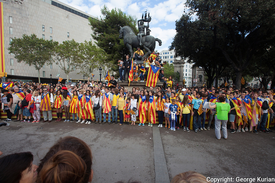 Catalan National Day 2013