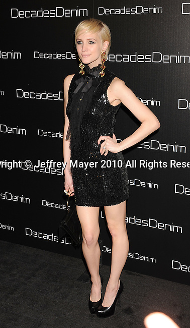 BEVERLY HILLS, CA. - November 02: Ashlee Simpson-Wentz  arrives at the Decades Of Denim Launch Party at a private residence on November 2, 2010 in Beverly Hills, California.