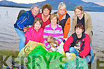 Pictured at the Killarney Nature Conservation lakeshore cleanup on Monday evening were Deirdre Kenny, Marie Doyle, Norma Bartlett, Claire Morris, Jenny Switzer, Ulla Harris and Cathy Desmond.......