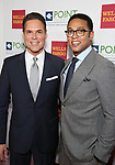 Jorge Valencia and Don Lemon attends the Point Foundation hosts Annual Point Honors New York Gala Celebrating The Accomplishments Of LGBTQ Students at The Plaza Hotel on April 9, 2018 in New York City.
