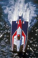 Cees van der Velden (#1) USFORA Formula One (F1) Tunnel Boats, Cincinnati, Ohio 1988