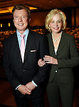 Chairs Carolyn and Michael Mann at the Guardian of the Human Spirit Luncheon at the Hilton Americas Hotel Monday Nov. 05,2012.(Dave Rossman photo)