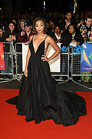 "Amandla Stenberg<br /> arriving for the London Film Festival screening of ""The Hate U Give"" at the Cineworld Leicester Square, London<br /> <br /> ©Ash Knotek  D3452  20/10/2018"