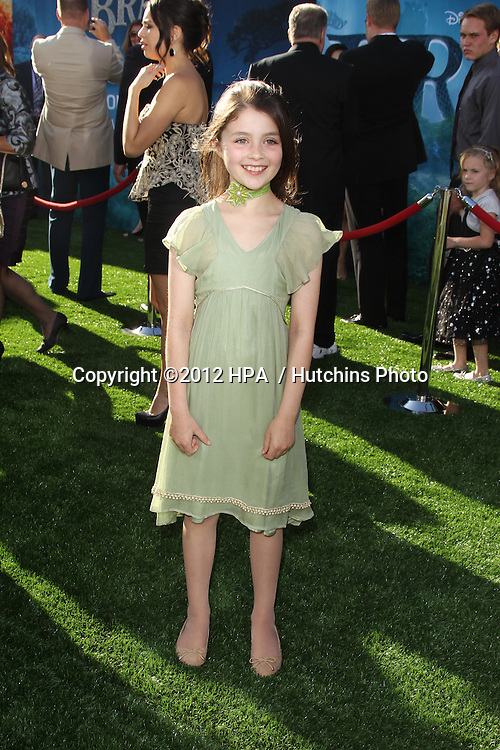 "LOS ANGELES - JUN 18:  Peigi Barker arrives at the ""Brave"" LAFF Premiere at Dolby Theatre on June 18, 2012 in Los Angeles, CA"