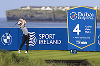 Gavin Moynihan (IRL) tees off the 4th tee during Thursday's Round 1 of the Dubai Duty Free Irish Open 2019, held at Lahinch Golf Club, Lahinch, Ireland. 4th July 2019.<br /> Picture: Eoin Clarke | Golffile<br /> <br /> <br /> All photos usage must carry mandatory copyright credit (© Golffile | Eoin Clarke)