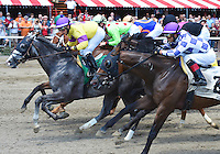 Scenes from around the track on opening day of the 146th meeting on July 18, 2014 at Saratoga Race Course in Saratoga Springs, New York.  (Bob Mayberger/Eclipse Sportswire)