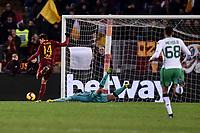 Patrik Schick Roma scores a goal.<br /> Roma 26-12-2018 Stadio Olimpico<br /> Football Calcio Campionato Serie A<br /> 2018/2019 <br /> AS Roma - Sassuolo<br /> Foto Antonietta Baldassarre / Insidefoto
