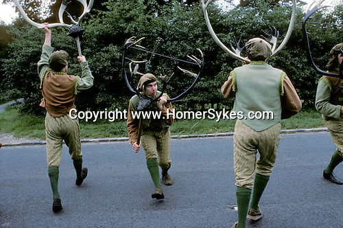 Abbots Bromley Horn Dance, Staffordshire. September