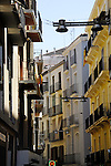 Buildings city views of Llieda, Cataluna, Spain.