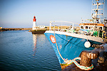 le 4 mai 2017, port du Guilvinec. Il y a deux ventes de poissons par jour, la première à 6 heures. Elle est destinée aux navires hauturieirs qui rstent entre 9 et 15  jours en mer. la seconde est faite pour les pêcheurs cotiers