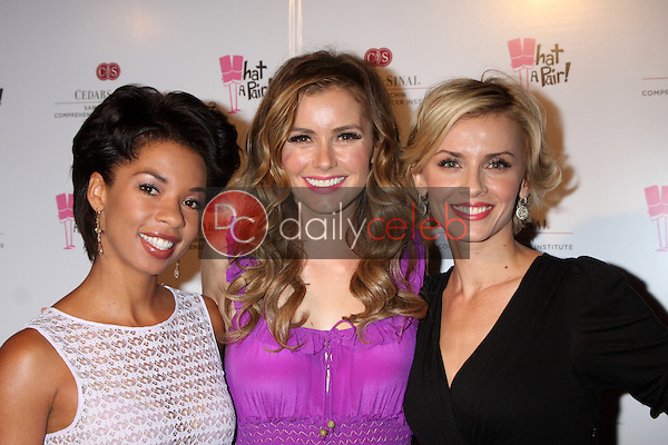 Angel Parker, Brianna Brown, Sara Wells<br /> at the &quot;What a Pair&quot; 10th Anniversary Concert, Saban Theater, Beverly Hills, CA 05-31-14<br /> David Edwards/DailyCeleb.com 818-249-4998