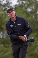 Jim Furyk (USA) watches his tee shot on 15 during Round 2 of the Valero Texas Open, AT&amp;T Oaks Course, TPC San Antonio, San Antonio, Texas, USA. 4/20/2018.<br /> Picture: Golffile | Ken Murray<br /> <br /> <br /> All photo usage must carry mandatory copyright credit (&copy; Golffile | Ken Murray)