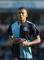 Jerell Sellars (Loanee from Aston Villa) of Wycombe Wanderers during the Sky Bet League 2 match between Wycombe Wanderers and Barnet at Adams Park, High Wycombe, England on 16 April 2016. Photo by Andy Rowland.