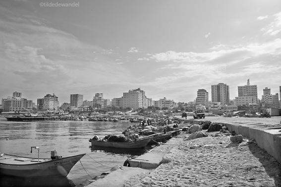 2010 October 31 - Gaza City - Gaza<br /> The port of Gaza City.