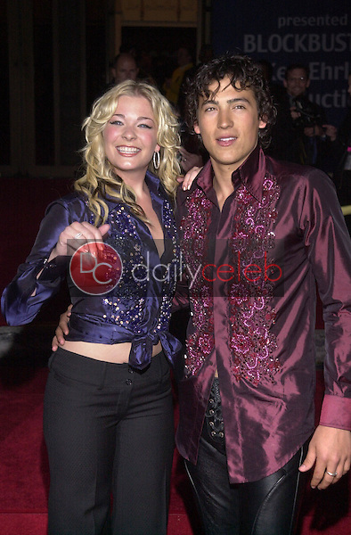 LEANN RIMES and ANDREW KEEGAN