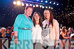 Deirdre Ferris, Julie McCarthy, Laurna Slattery enjoying the Austin Stacks Strictly come Dancing Finals at the Rose Dome on Saturday