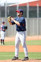 Ryan Edell, Cleveland Indians 2010 minor league spring training..Photo by:  Bill Mitchell/Four Seam Images.