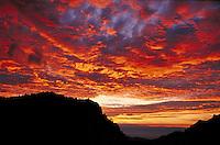 sunset in Big Bend National Park