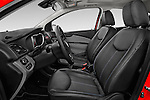 Front seat view of 2016 Opel Karl Cosmo 5 Door Hatchback Front Seat car photos