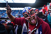 February 2nd 2019, San Jose, California, USA; A USA supporter during the international friendly match between USA and Costa Rica at Avaya Stadium on February 2, 2019 in San Jose CA.