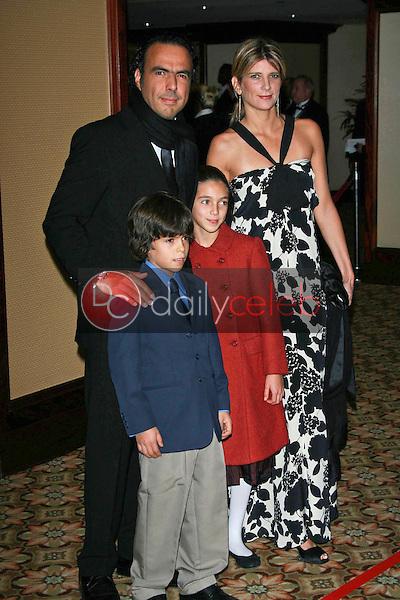 Alejandro Gonzalez Inarritu and family<br />at the 59th Annual Directors Guild of America Awards. Hyatt Regency Century Plaza, Century City, CA. 02-03-07<br />Dave Edwards/DailyCeleb.com 818-249-4998