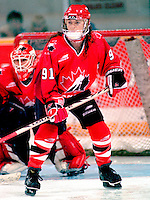 Geraldine Heaney Team Canada 1997. Photo copyright F. Scott Grant