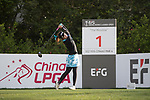 Golfer Nattagate Nimitpongkul of Thailand during the 2017 Hong Kong Ladies Open on June 9, 2017 in Hong Kong, China. Photo by Chris Wong / Power Sport Images