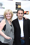 "As The World Turns' Ellen Dolan poses with Anthony Aquilino (both in film) at The private Industry Screening of ""The Southside"", A Lany Film Tribute to Robert Areizaga, Jr. on February 27, 2012 at Tribeca Cinemas, New York City, New York.  (Photo by Sue Coflin/Max Photos)"