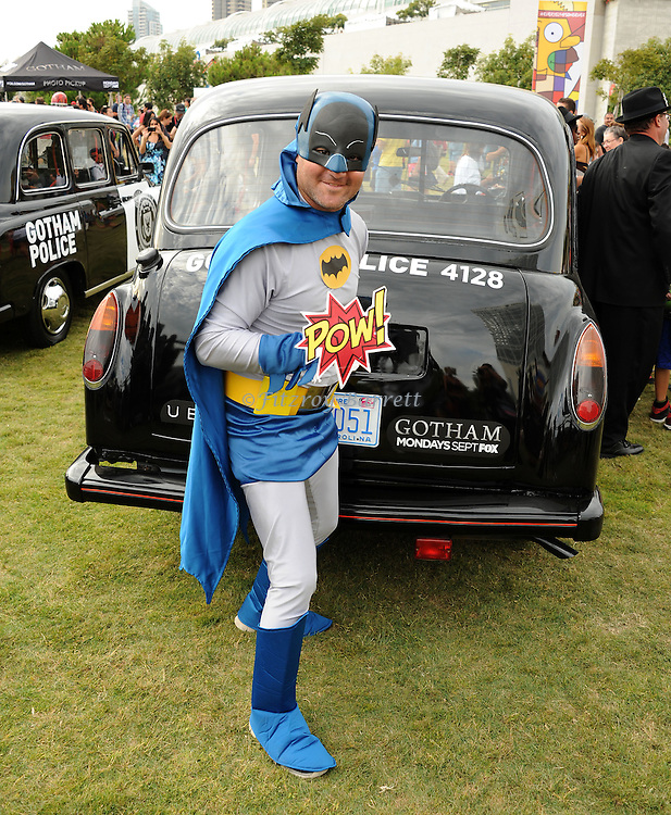 Batman Fan at Comic-Con 2014 in San Diego, Ca. July 26, 2014.