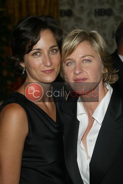 Ellen Degeneres and girlfiend Alexandra Hedison