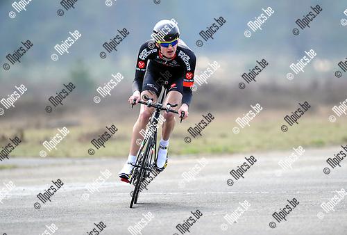 2012-04-03 / Wielrennen / seizoen 2012 / PK Tijdrijden Antwerpen / De Smedt Mauro..Foto: Mpics.be