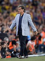 FUSSBALL  INTERNATIONAL  PRIMERA DIVISION  SAISON 2013/2014   10. Spieltag  El Clasico   FC Barcelona - Real Madrid         26.10.2013 Trainer Gerardo Martino (Barca)