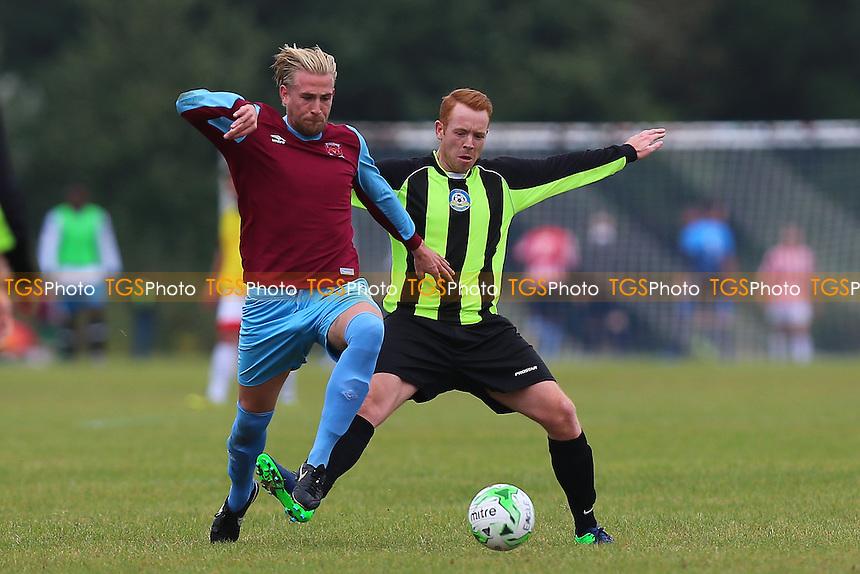 Eagle (green/black) vs Bristow City, Hackney & Leyton Sunday League Football at Hackney Marshes on 16th October 2016