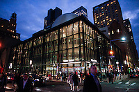 General view of the newly opened Fulton Center train station in lower Manhattan New York City, 11 November 2014. Fulton is Largest Subway Hub, The station that was partially ruined in the Sept. 11, 2001, terrorist attacks.