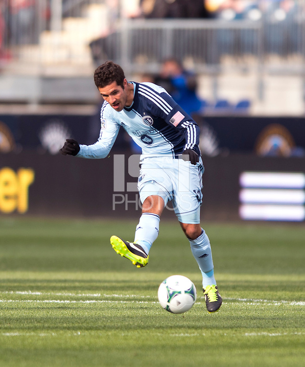 Benny Feilhaber.  Sporting Kansas City defeated Philadelphia Union, 3-1. at PPL Park in Chester, PA.