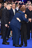 "David Furnish and Elton John<br /> arriving for the ""Rocketman"" premiere in Leicester Square, London<br /> <br /> ©Ash Knotek  D3502  20/05/2019"