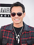 LOS ANGELES, CA - NOVEMBER 24: Marc Anthony arrives at   The 2013 American Music Awards held at Nokia Live in Los Angeles, California on November 24,2013                                                                               © 2013 Hollywood Press Agency